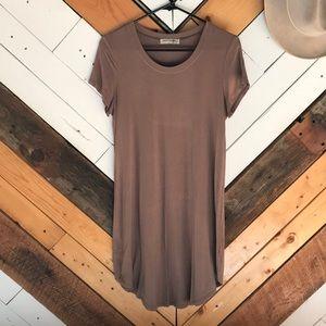 Bear Dance Tee Shirt Dress